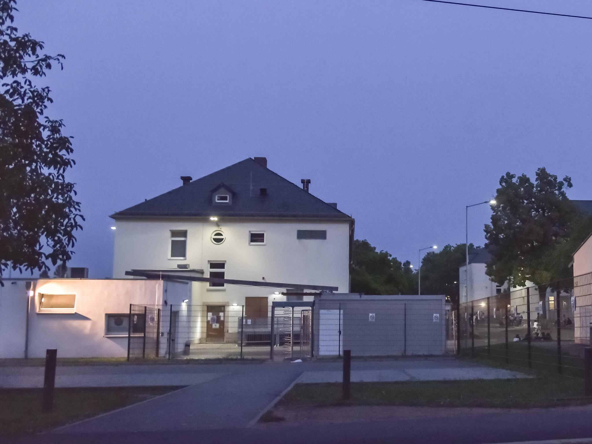 Die Erstaufnahmeeinrichtung für Asylbewerber in Schweinfurt. Foto: Pascal Höfig