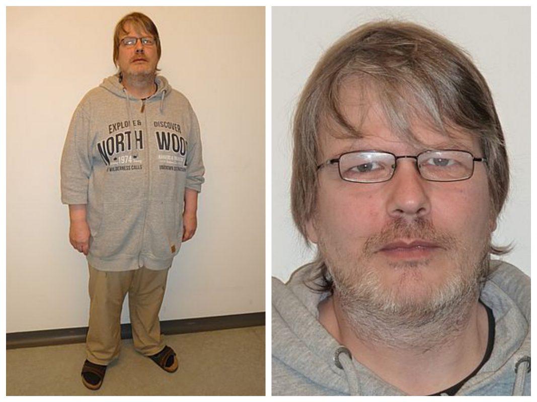 Wenn ihr diesen gesuchten Mann seht bitte sofort über Notruf 110 die Polizei verständigen! Foto: Polizei