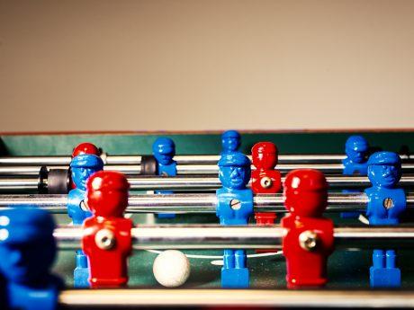 Symbolbild Tischfußball. Foto: Pascal Höfig