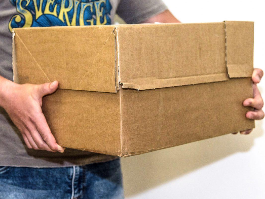 Paket. Symbolfoto: Pascal Höfig