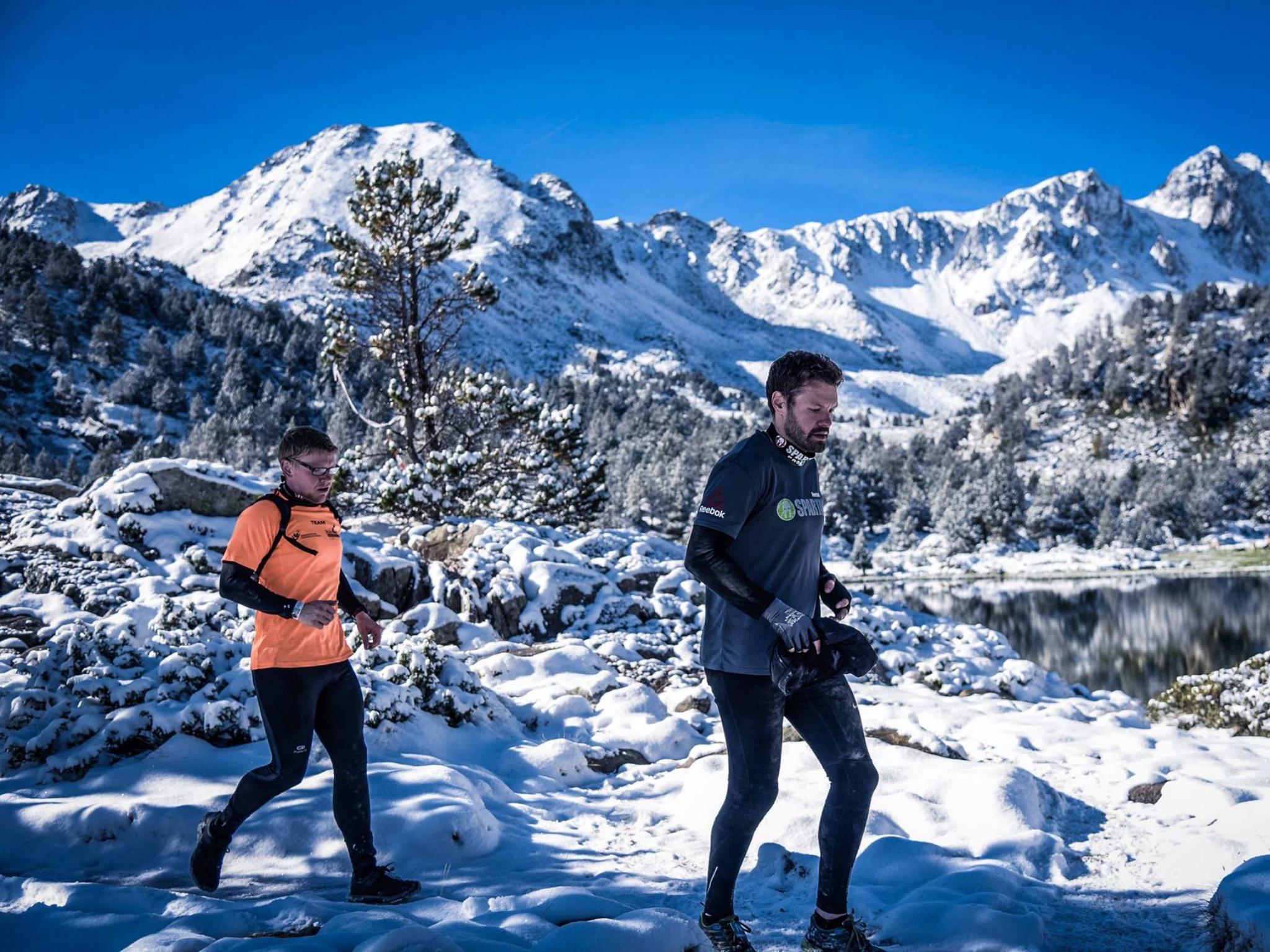 Sven Gewald bei einem Spartan Race in Andorra. Foto: Sportograf, Sven Gehwald