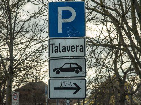 Parkplatz Talavera. Foto: Pascal Höfig