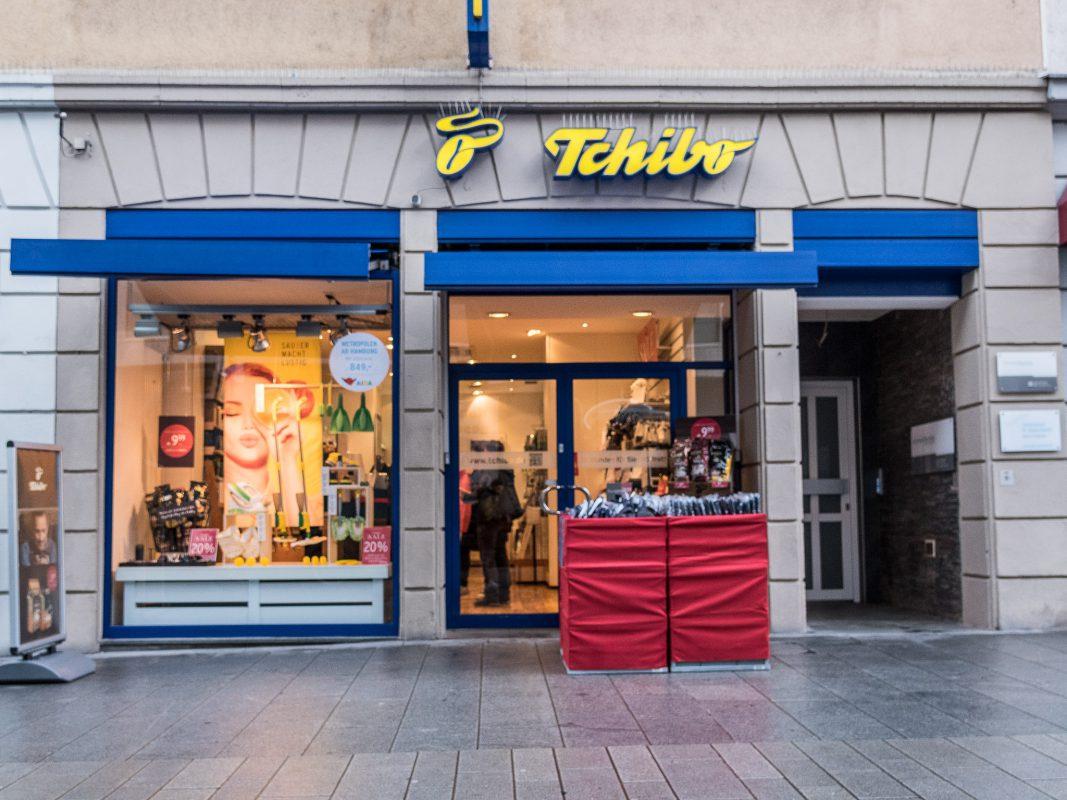 Die Tchibo-Filiale in der Eichhornstraße in Würzburg. Foto: Pascal Höfig