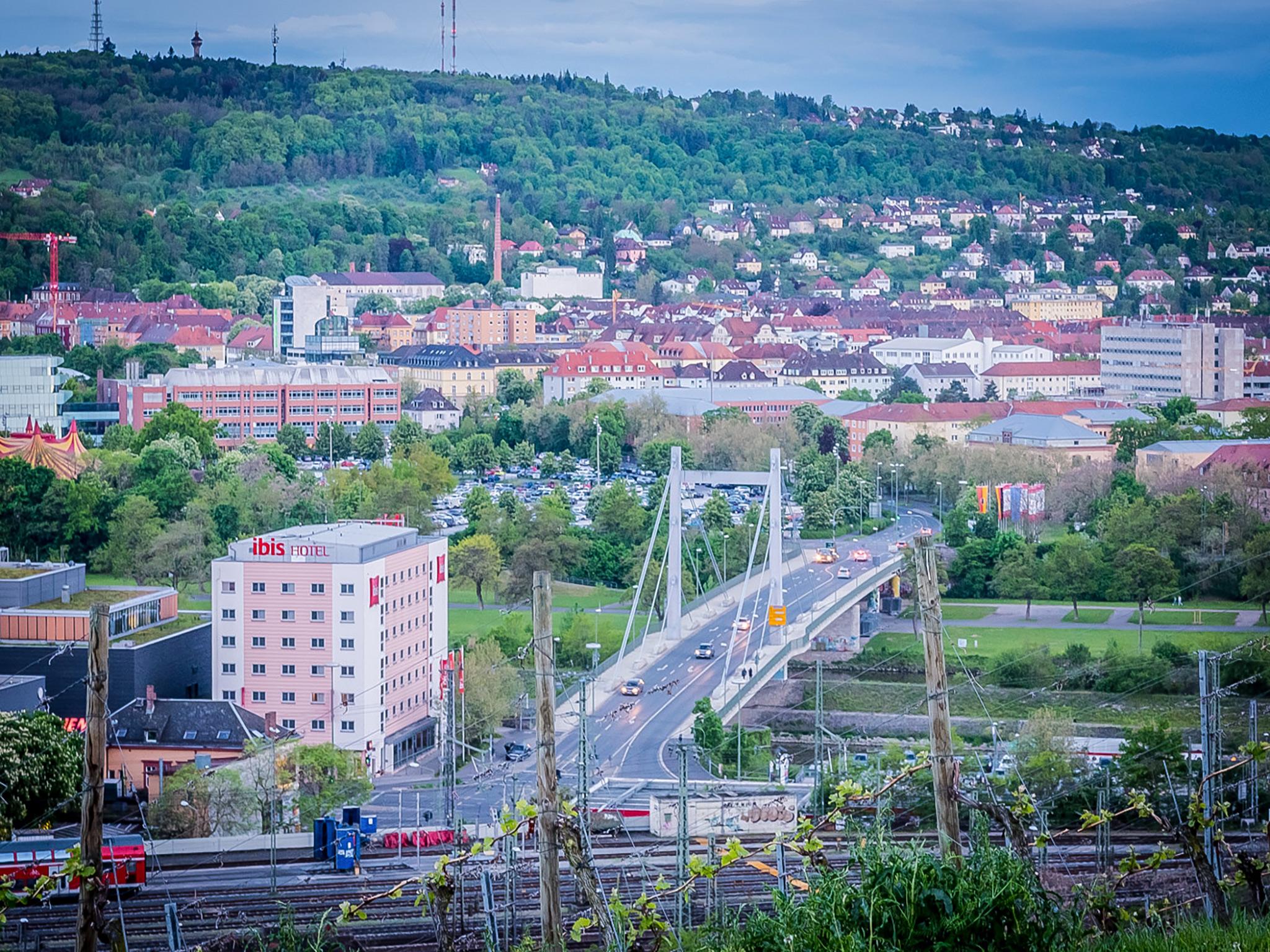 Die Brücke der Deutschen Einheit in Würzburg. Foto: Pascal Höfig