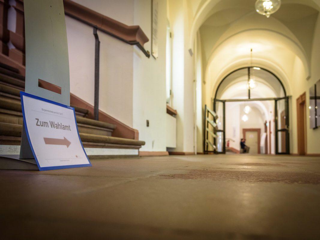 Am 14. Oktober ist Landtags- und Bezirkstagswahl. Foto: Pascal Höfig