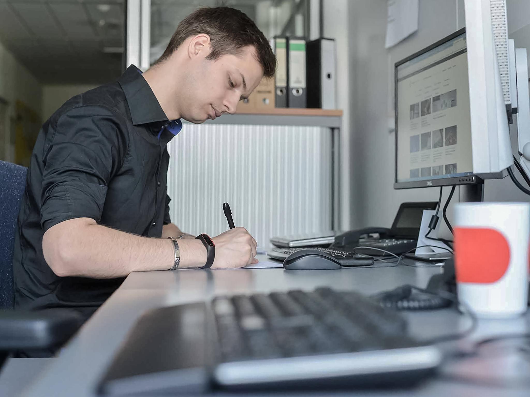 Wüma Trainee Patrick. Foto: JUntch/Vogel Business Media