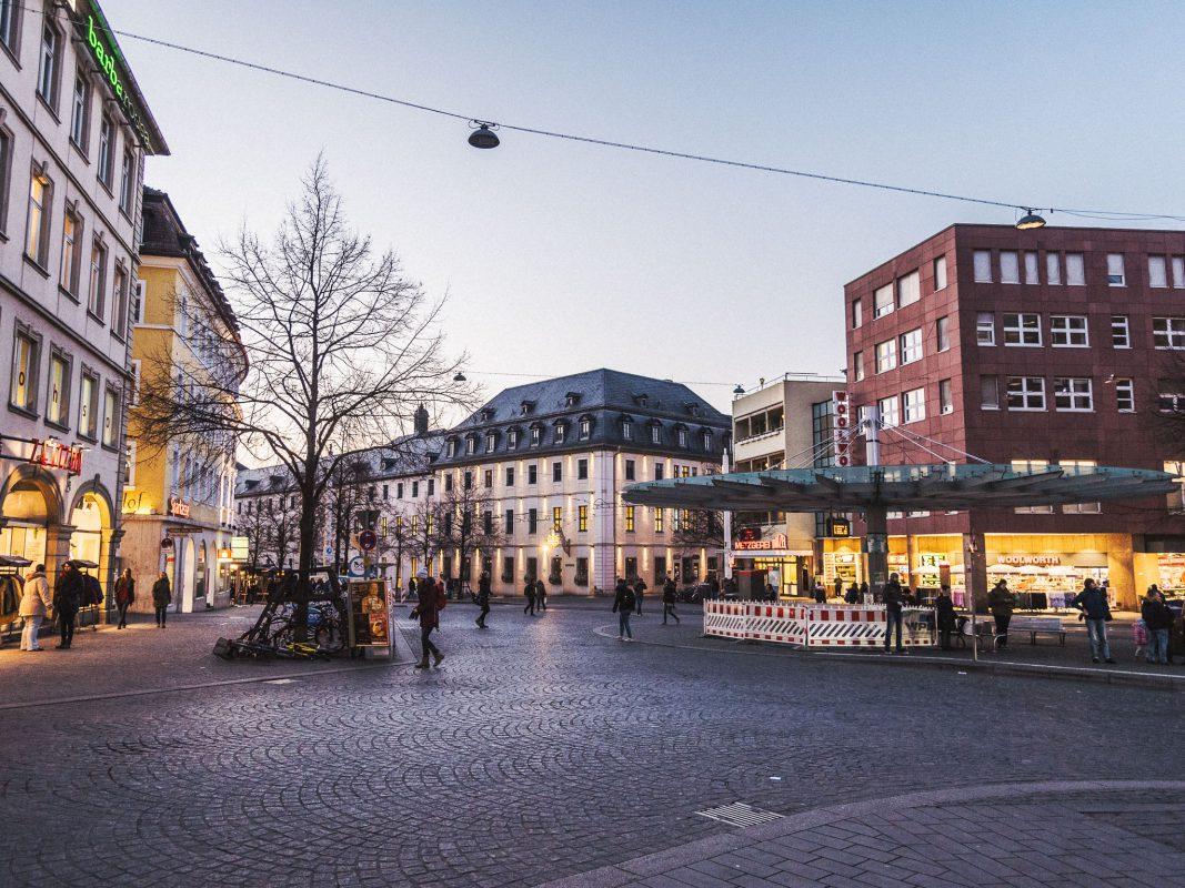 Der Barbarossaplatz. Symbolfoto: Pascal Höfig