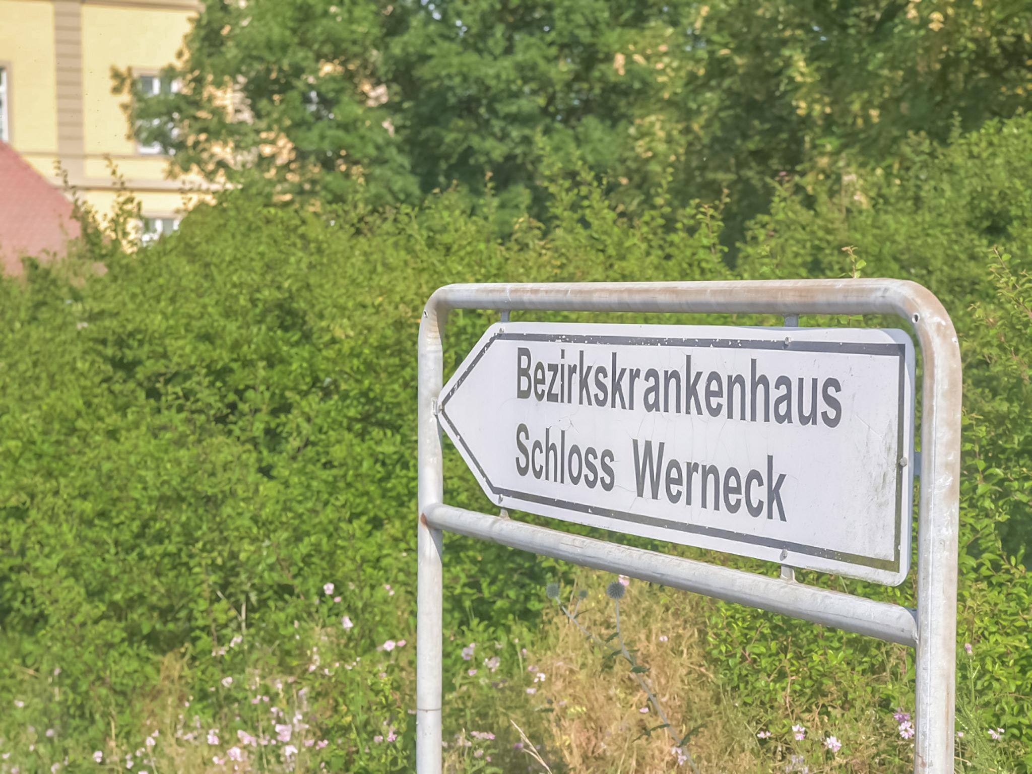 Das Krankenhaus für Psychiatrie, Psychotherapie und Psychosomatische Medizin Schloss Werneck, Foto: Pascal Höfig