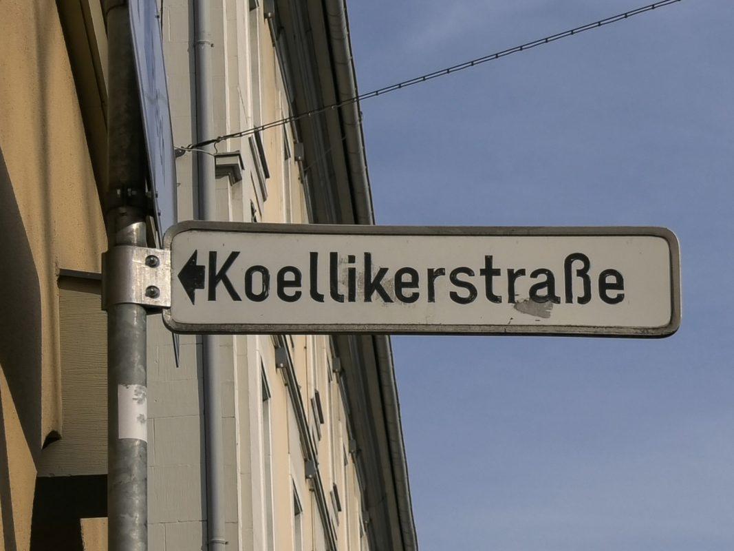 Die Koellikerstraße in Würzburg. Foto: Pascal Höfig