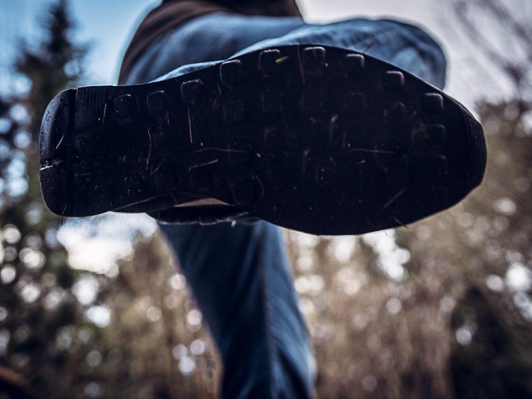 Tritt mit dem Fuß. Symbolfoto: Pascal Höfig