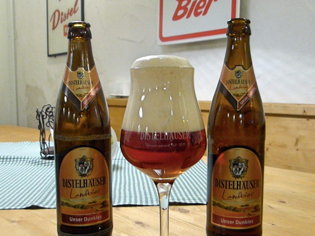 Distelhäuser Landbier. Foto: Distelhäuser Brauerei