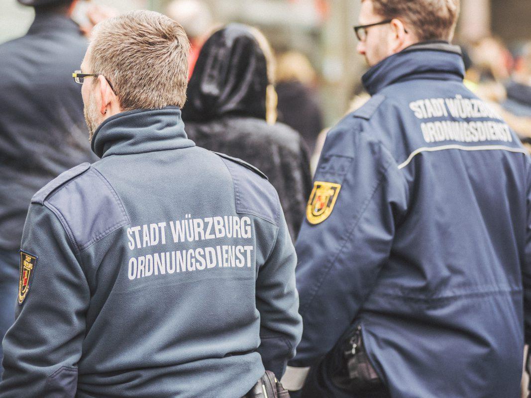 Der kommunale Ordnungsdienst Würzburg. Foto: Pascal Höfig