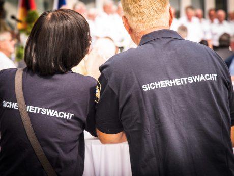 Sicherheitswacht. Foto: Pascal Höfig