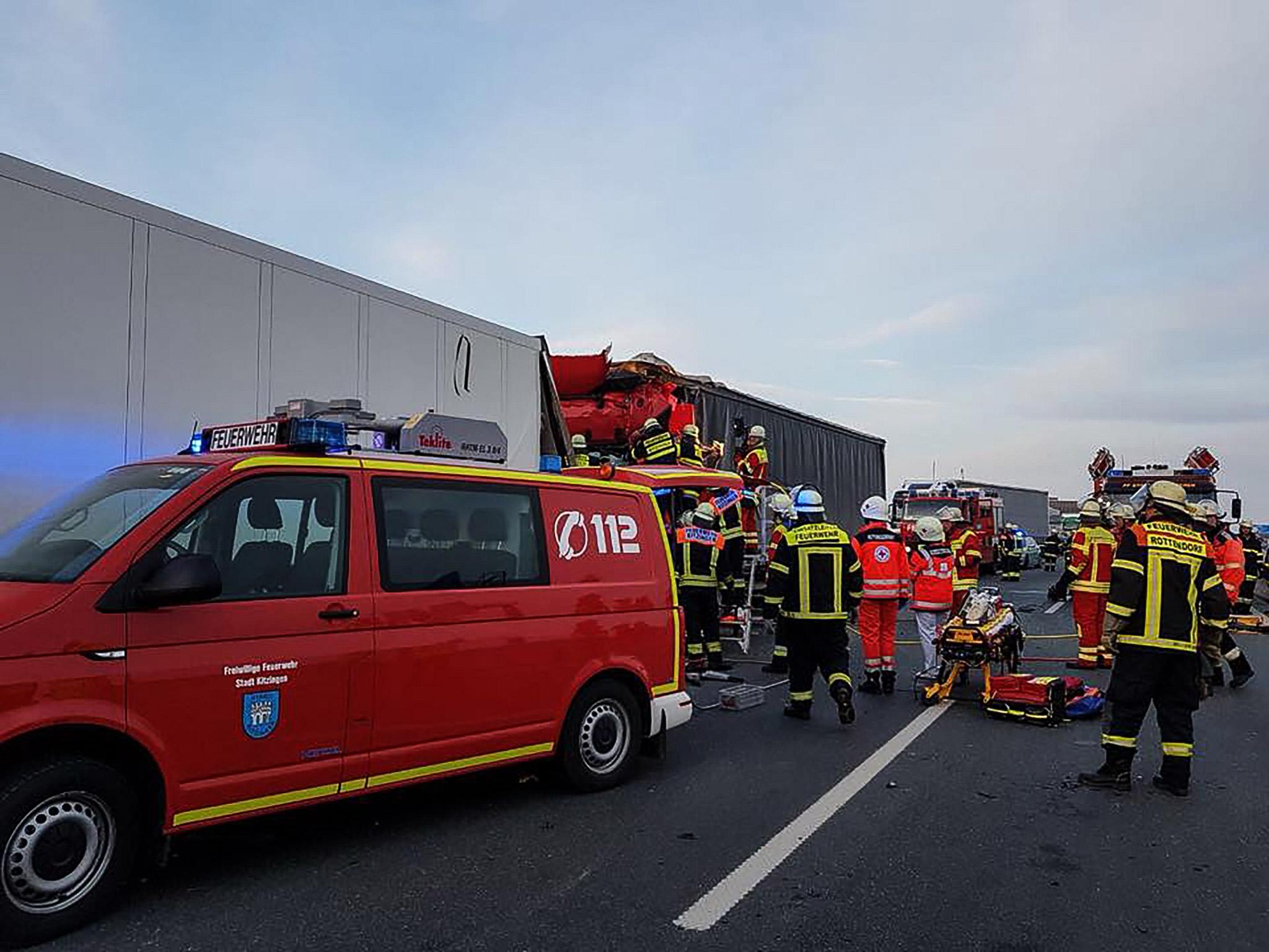 Zahlreiche Einsatzkräfte vor Ort. Foto: Freiwillige Feuerwehr Rottendorf
