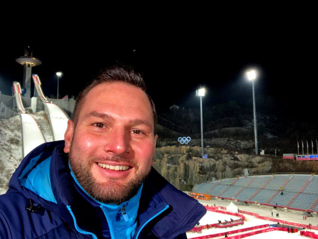 Matze Bielek bei Olympia 2018 in Pyeongchang. Foto: Matze Bielek
