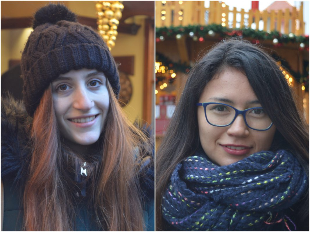 Links Lucia Razza aus Italien, rechts Valeria Salazar Sánchez aus Kolumbien. Fotos: Katharina Bormann