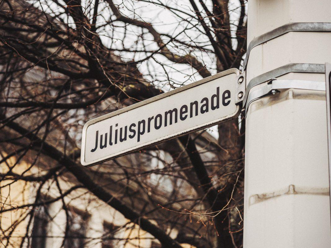 Juliuspromenade. Foto: Pascal Höfig