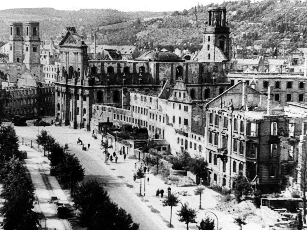Balthasar-Neumann-Promenade 1946, Foto: Willi Dürrnagel