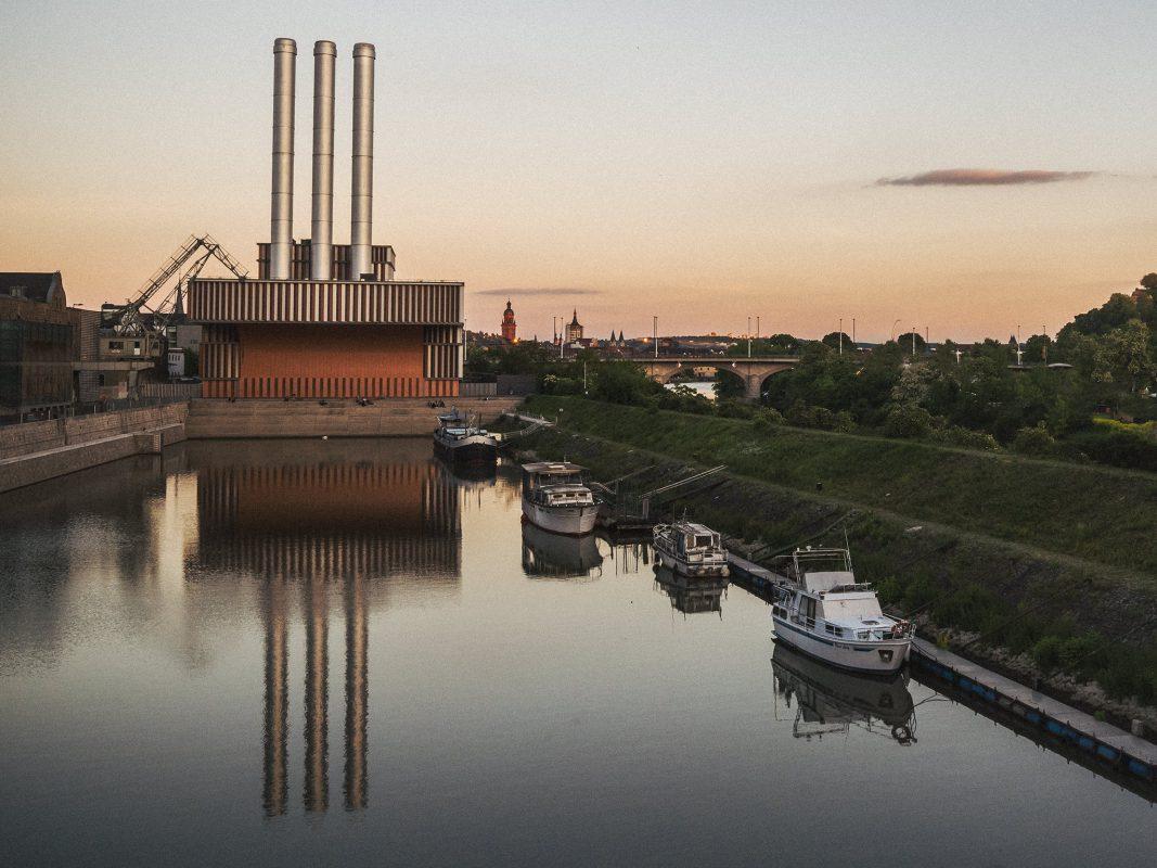 Auch das Heizkraftwerk bleibt dunkel. Foto: Pascal Höfig