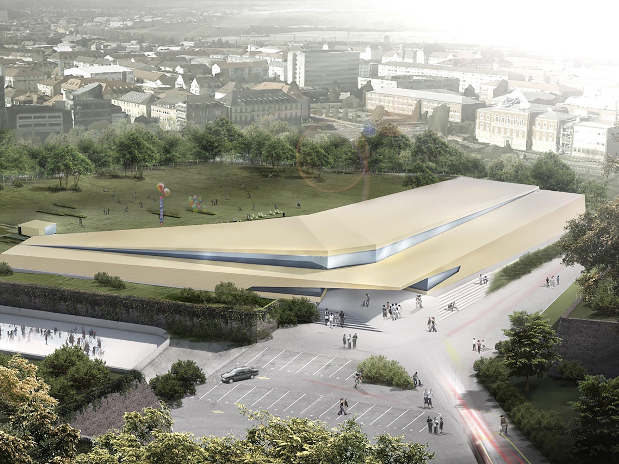 So könnte das neue Nautiland aussehen. Entwurf: Fritz Planung GmbH