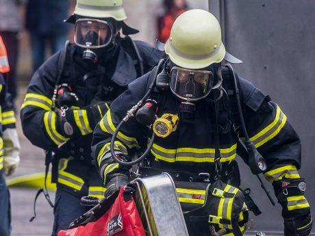 Feuerwehr im Einsatz. Symbolbild: Pascal Höfig