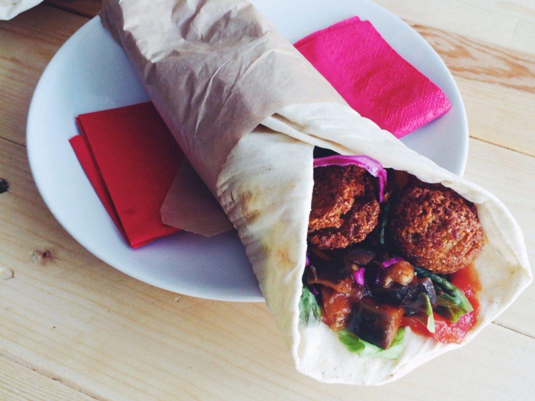 Vegetarischer Wrap. Symbolfoto: Meliz Kaya