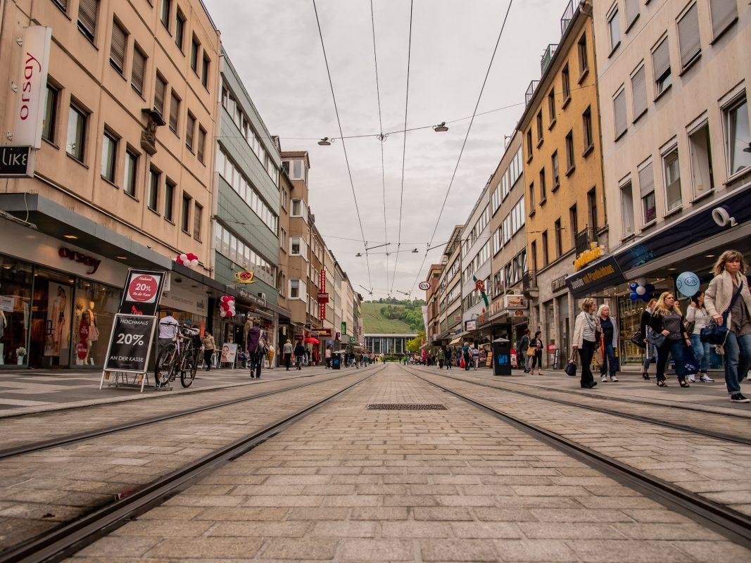 Die Kaiserstraße in neuem Gewand. Foto: Pascal Höfig