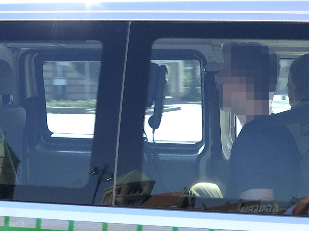 Der 24-Jährige bei seinem Termin beim Haftrichter. Foto: Sat.1 Bayern