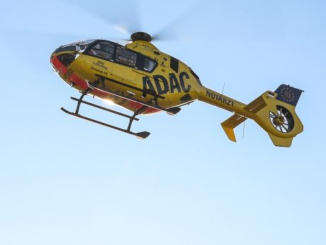 """""""Christoph 18"""" - Hubschrauber der ADAC Luftrettung. Foto: Pascal Höfig"""