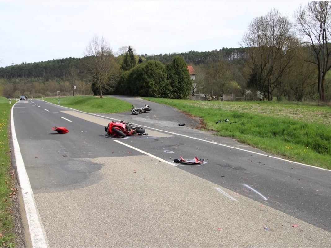Tödlicher Verkehrsunfall in Werbach. Foto: René Engmann