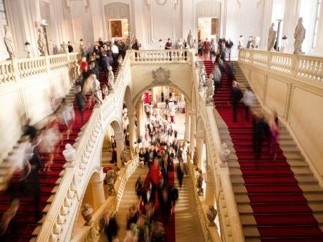 Treppenaufgang der Residenz. Foto: Schmelz Fotodesign / Mozartfest Würzburg