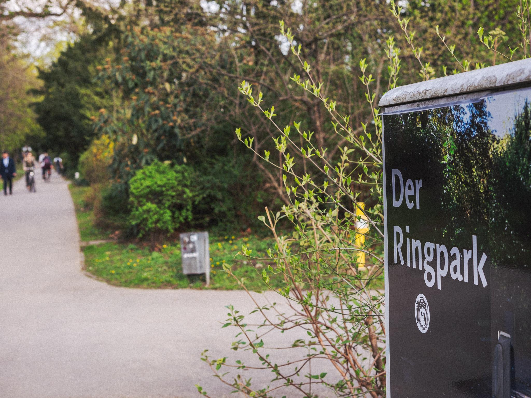 Der Ringpark. Foto: Pascal Höfig