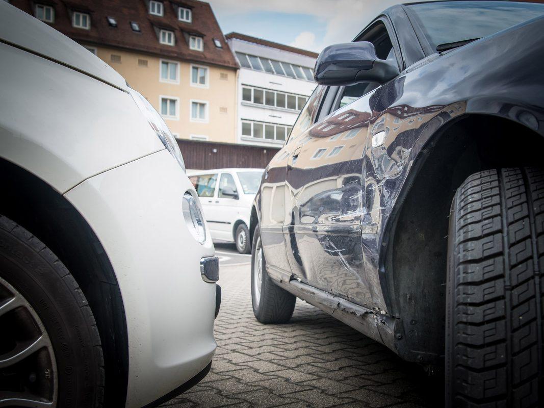 Ein Verkehrsunfall. Symbolfoto: Pascal Höfig