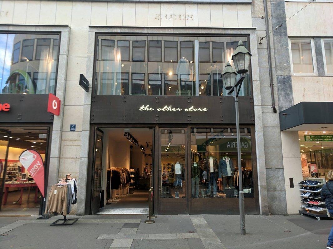 """""""The other store"""" in der Schönbornstraße. Foto: Würzburg erleben"""