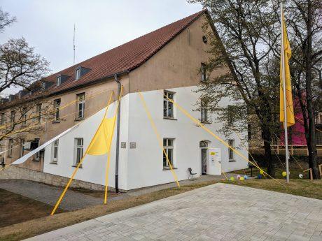 LAB 13: Altes Kasernengebäude mit neuem Glanz! Foto: Christian J. Papay
