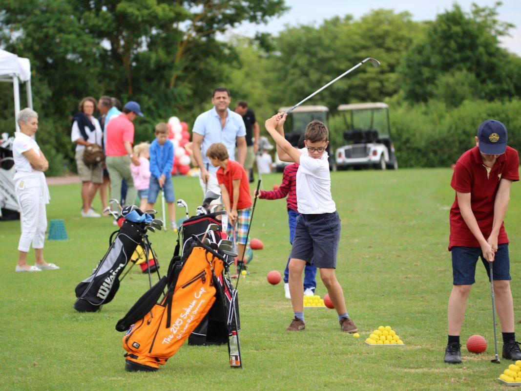 Golf-Spaß im Golf Club Würzburg. Foto: Golf Club Würzburg