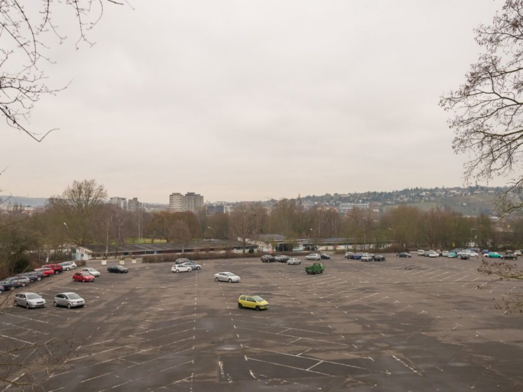 Dallenberg-Parkplatz. Foto: Pascal Höfig