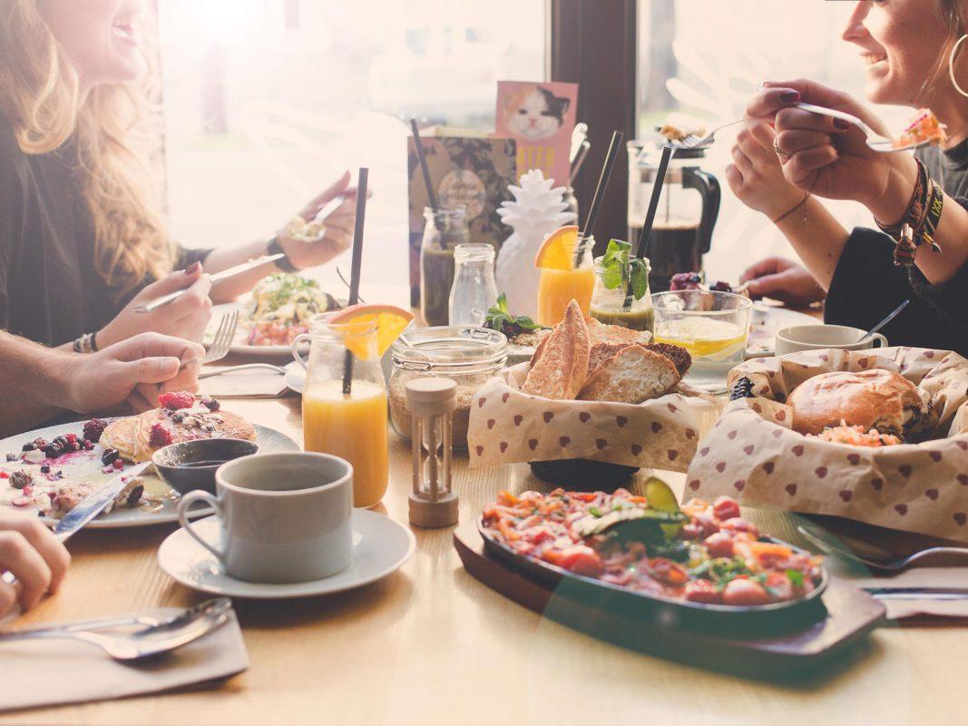 Authentisch amerikanisches Frühstück im CBC! Foto: CBC