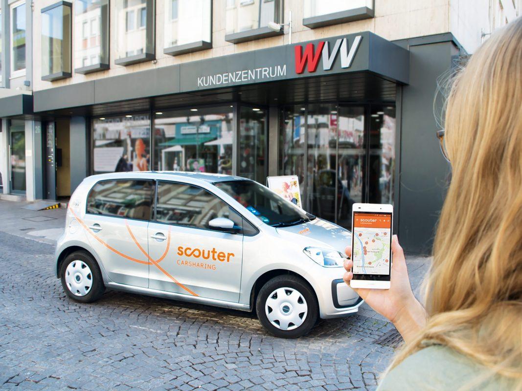 Einfach, günstig & mobil mit Carsharing! Foto: scouter Carsharing