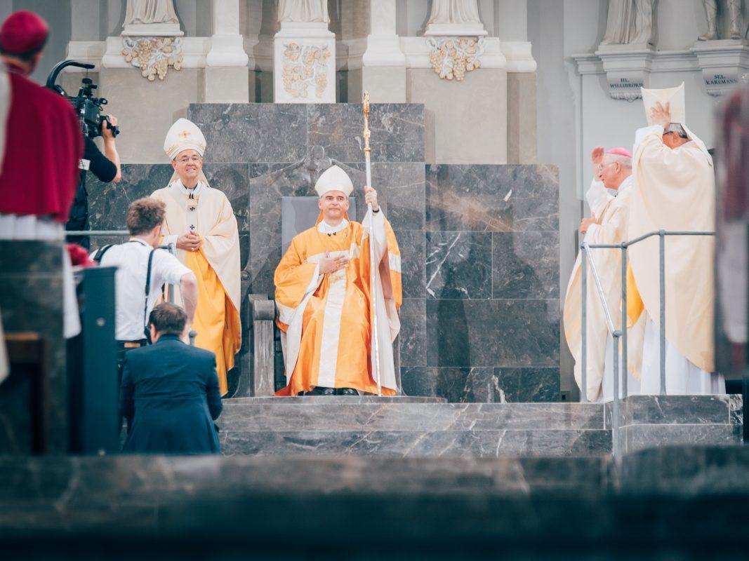 Seit dem 10. Juni 2018 der 89. Bischof Würzburgs: Dr. Franz Jung. Foto: Pascal Höfig