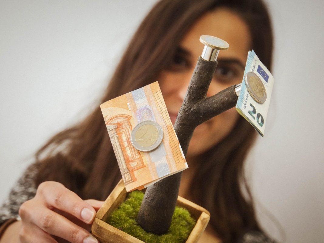 Geld richtig anpflanzen? Foto: Dominik Ziegler