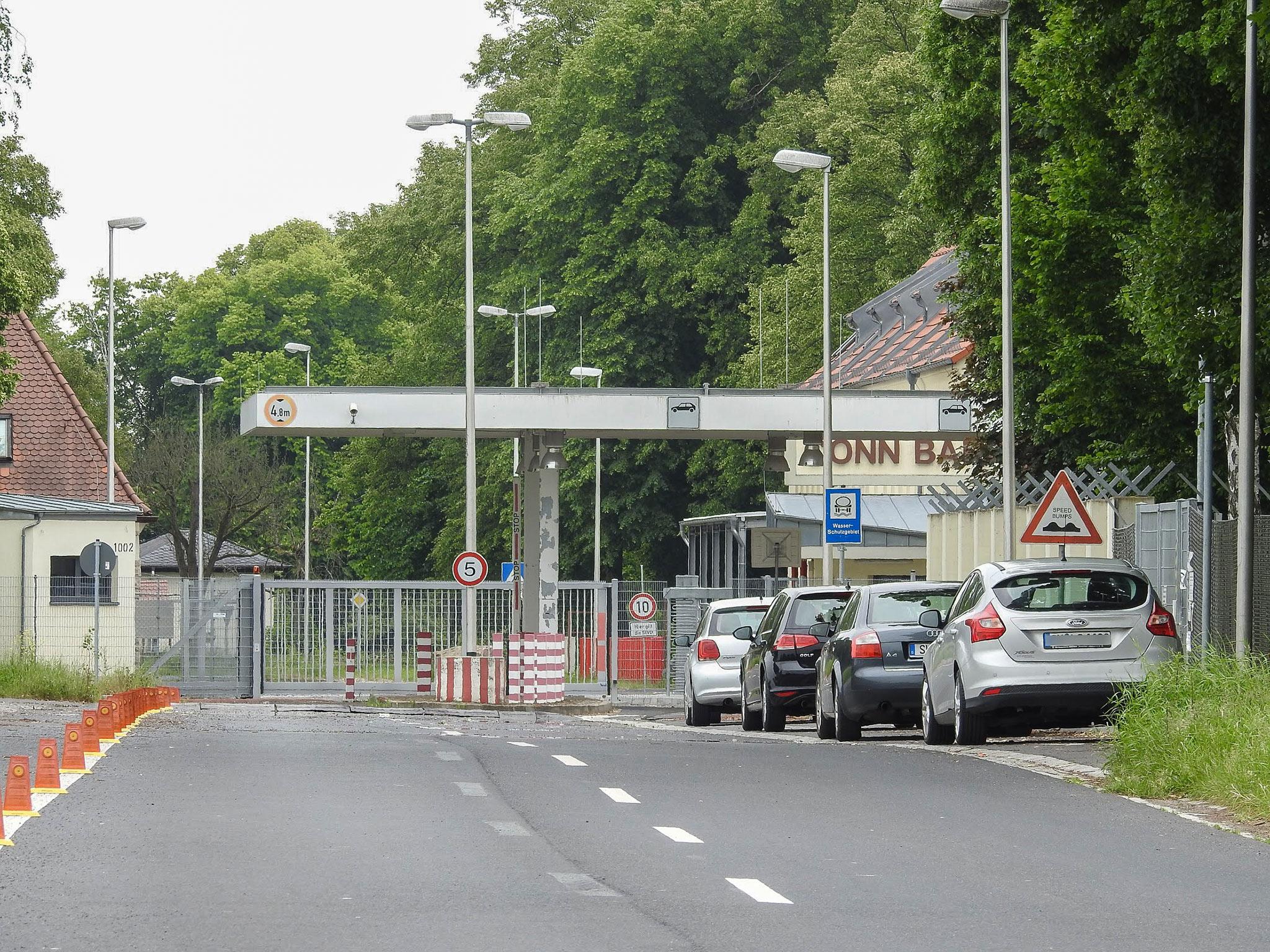 Die Conn-Barracks in Schweinfurt werden zu einem Ankerzentrum. Foto: Dirk Flieger