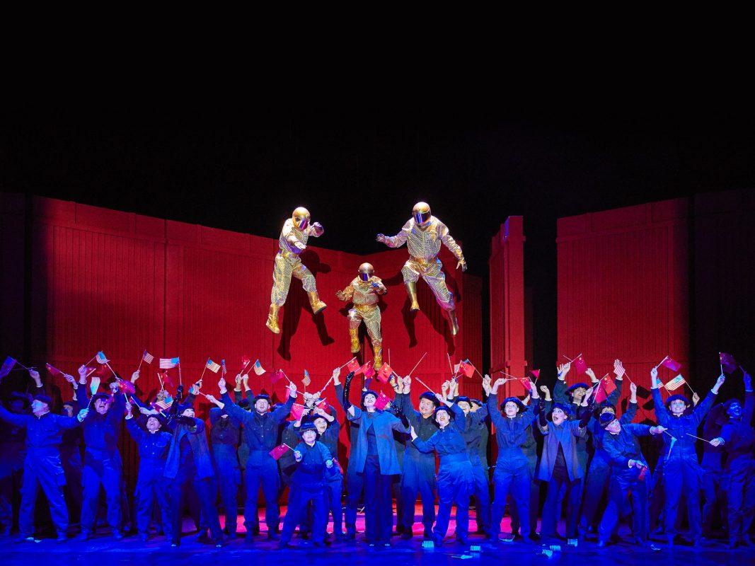 Nixon in China – Eine Oper von John Adams. Foto: Mainfranken Theater / Nik Schölzel