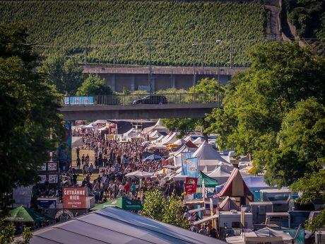 Das Umsonst & Draußen Festival. Foto: Pascal Höfig