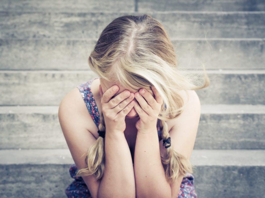 Weinende Frau. Foto: Pascal Höfig