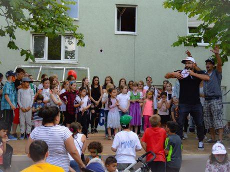 Alkoholfreies Stadtfest in Grombühl. Foto: