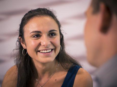 Auf Denise wartet eine großartige Zukunft bei WAREMA! Foto: Dominik Ziegler