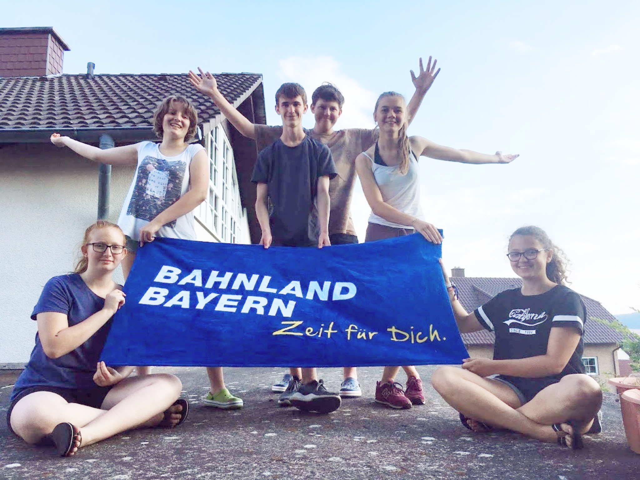 Bahnland Bayern für Schüler. Foto: DB Regio AG