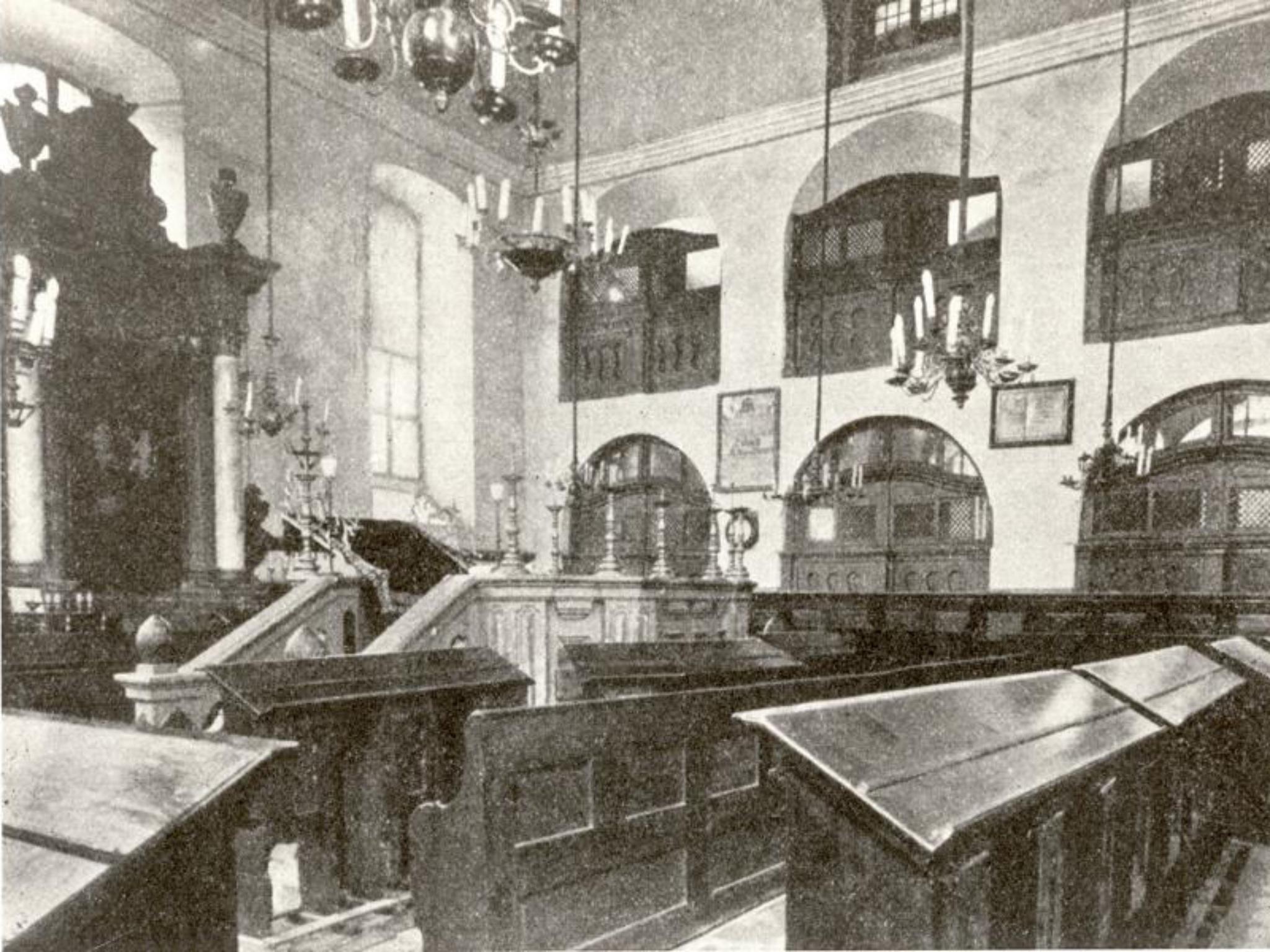Blick in den prächtigen Innenraum. Archiv: Willi Dürrnagel
