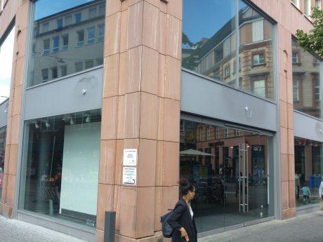 Leerstand in der Kaiserstraße, Ecke Barbarossaplatz. Foto: Dominik Ziegler